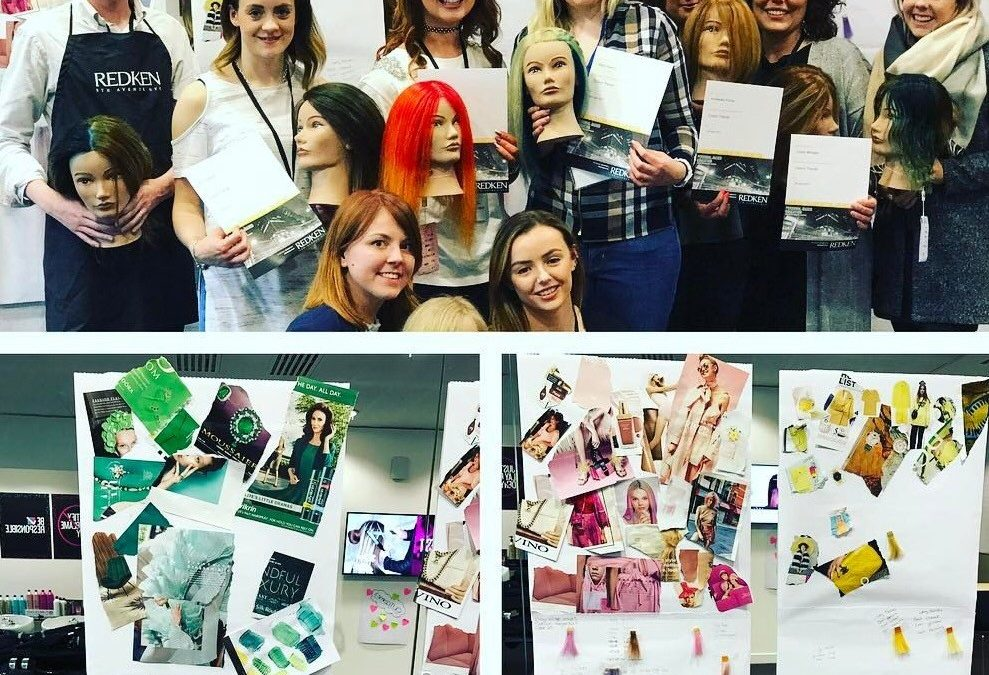 Kerry's Day at Redken Academy